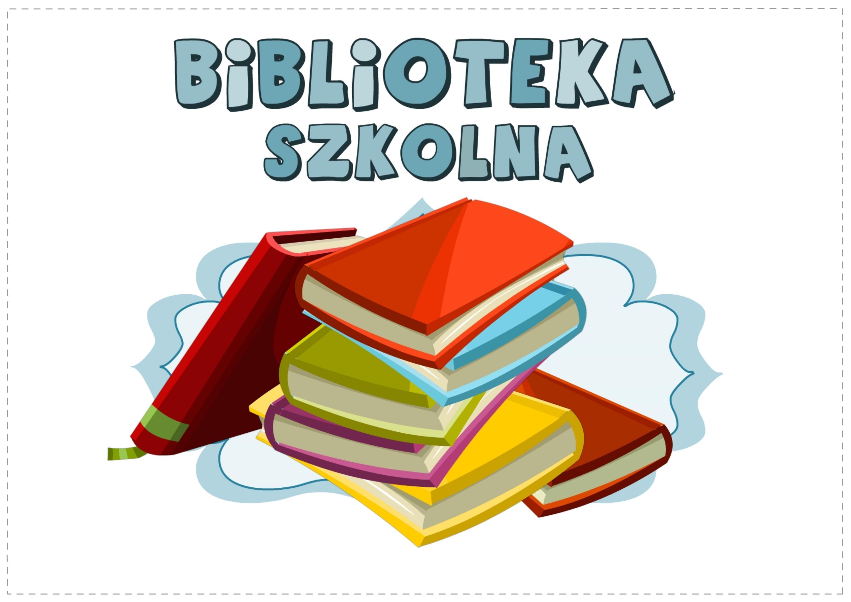 Biblioteka szkolna zachęca! – Szkoła Podstawowa nr 4 w Ostrołęce